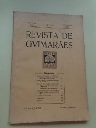 REVISTA DE GUIMARÂES. Julho - Dezembro 1945 (Vol. LV - Números 3 -4) - Ver os detalles do produto