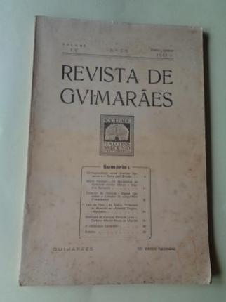 REVISTA DE GUIMARÂES. Janeiro - Junho 1945 (Vol. LV - Números 1 -2) - Ver os detalles do produto