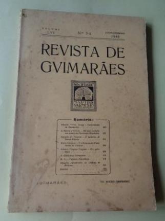 REVISTA DE GUIMARÂES. Julho - Dezembro 1946 (Vol. LVI - Números 3 -4) - Ver os detalles do produto