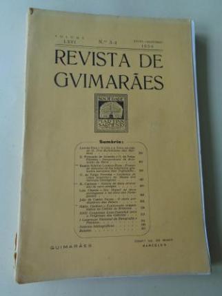 REVISTA DE GUIMARÂES. Julho - Dezembro 1956 (Vol. LXVI - Números 3 -4) - Ver os detalles do produto
