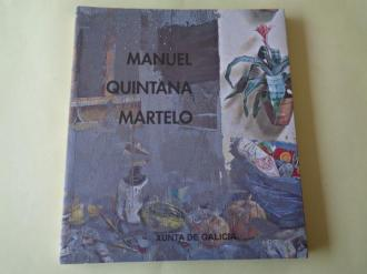 MANUEL QUINTANA MARTELO. Catálogo Exposición Casa da Parra, Santiago de Compostela, 2000-2001 - Ver os detalles do produto