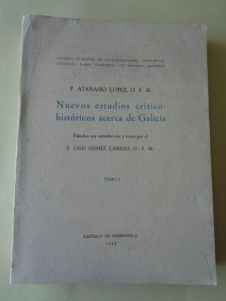 Nuevos estudios crítico-históricos acerca de Galicia. TOMO I - Ver os detalles do produto