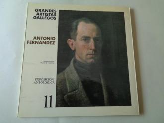 ANTONIO FERNÁNDEZ. Catágolo Exposición antológica, Vigo,1986 - Ver os detalles do produto