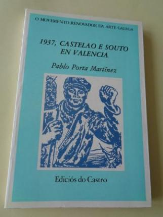 1937, Castelao e Souto en Valencia - Ver os detalles do produto