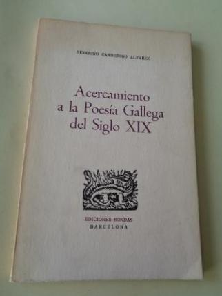 Acercamiento a la Poesía Gallega del Siglo XIX - Ver os detalles do produto