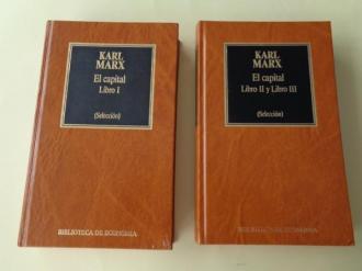 El capital. Libros I, II y III (Selección). 2 tomos - Ver os detalles do produto