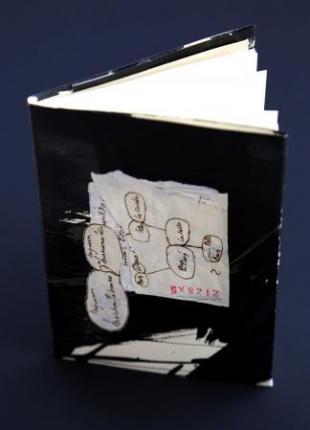Monólogo do calígrafo | 2015 Libro de artista de exemplar único - Ver os detalles do produto