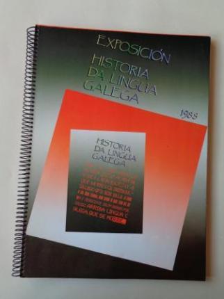 Exposición Historia de Lingua Galega 1988 - Ver os detalles do produto