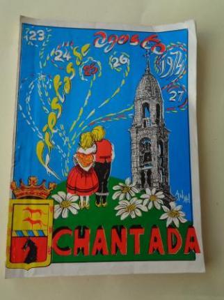Programa Fiestas de Agosto Chantada (Lugo) 1974 - Ver os detalles do produto