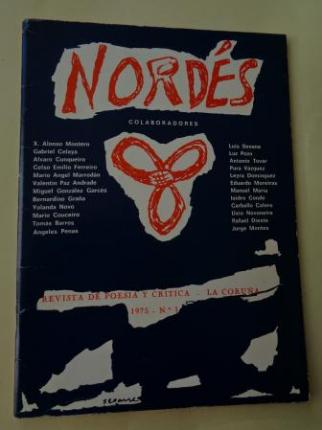 NORDÉS. Revista de poesía y crítica. Nº 1 - La Coruña, 1975 - Ver os detalles do produto