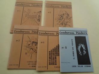 Cuadernos Píndaro. Números 1 - 2 - 3 - 4 y 5 - Ver os detalles do produto