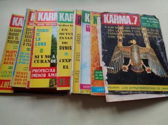 KARMA.7 NUEVOS HORIZONTES DE LA CIENCIA. 14 revistas. Números 15 al 27 y número 29 - Ver os detalles do produto