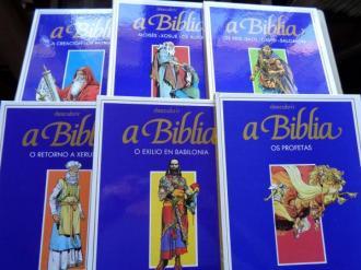 Descubrir A Biblia. 6 tomos (En galego). En forma de cómic, ilustrados en color. Tradución de X. Chao Rego - Ver os detalles do produto