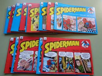Spiderman. Números 1 a 17. Los daily-strip comics de Stan Lee y John Romita - Ver os detalles do produto