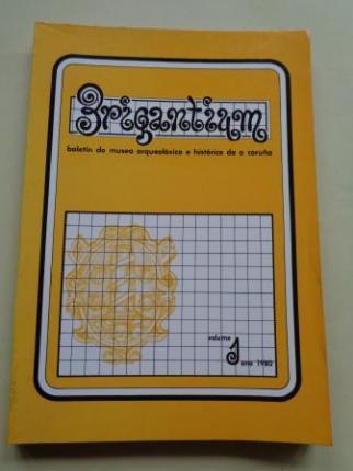 BRIGANTIUM. Boletín do Museo Arqueolóxico e Histórico de A Coruña. Volume 1, ano 1980 - Ver os detalles do produto