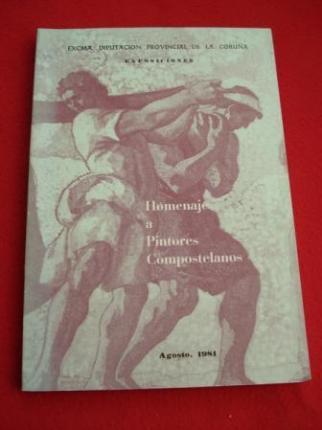 Homenaje a Pintores Compostelanos. Agosto 1981 - Ver os detalles do produto