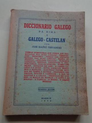 Diccionario galego da rima e Galego-Castelán - Ver os detalles do produto