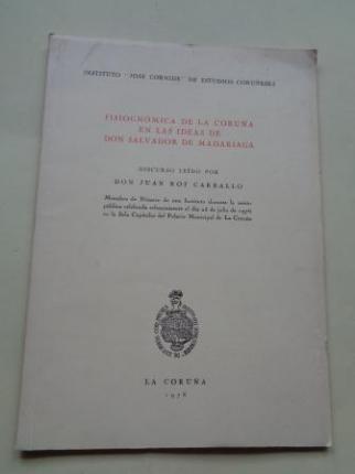 Fisignómica de La Coruña en las ideas de don Salvador de Madariaga - Ver os detalles do produto