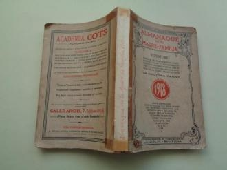 Almanaque de la madre de familia 1918. Publicaciones del hogar y la moda - Ver os detalles do produto