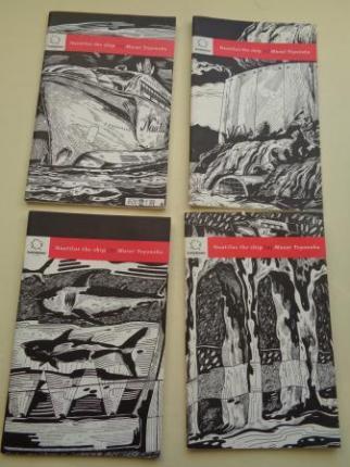 Nautilus the ship. 4 cuadernos de 5. (Ilustrados en B/N, texto en portugués)) - Ver os detalles do produto