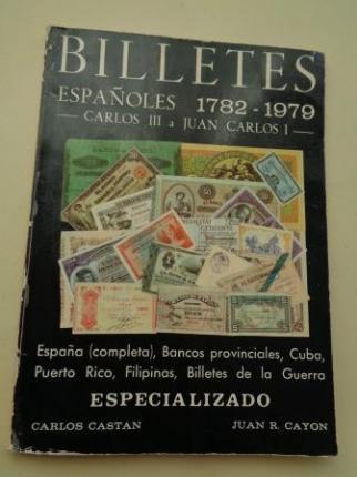 Billetes españoles 1782-1979. Carlos III a Juan Carlos I - Ver os detalles do produto