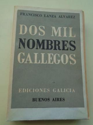 Dos mil nombres gallegos - Ver os detalles do produto
