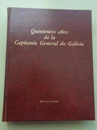 Quinientos años de la Capitanía General de Galicia - Ver os detalles do produto