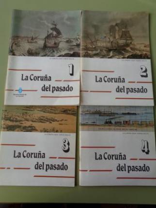 La Coruña del pasado. La Coruña hace varios siglos. Volúmenes 1, 2, 3 y 4 - Ver os detalles do produto