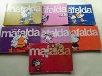 Mafalda. Números 3 - 4 - 5 - 7 - 8 - 9 - 10 - Ver os detalles do produto