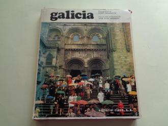 Galicia. Librodisco (Libro + disco de 33 rpm) con estuche. Textos en francés - Ver os detalles do produto