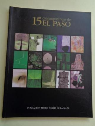15 contemporáneos de El Paso. Catálogo exposición Fundación Barrié de la Maza, A Coruña, 1998 - Ver os detalles do produto