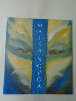 MAIKA NOVOA. Catálogo exposición Casa da Parra, Santiago de Compostela 1988 - Ver os detalles do produto