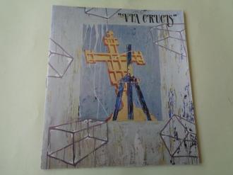 VÍA CRUCIS. Catálogo exposición 14 poetas + 14 pintores. Casa da Parra, Santiago de Compostela, 1988 - Ver os detalles do produto
