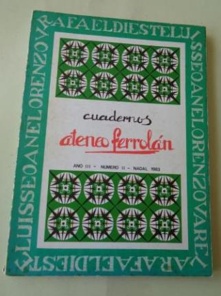 Cuadernos Ateneo Ferrolán. Ano III. Nº II. Nadal 1983. Rafael Dieste- Luis Seoane-Lorenzo Varela - Ver os detalles do produto