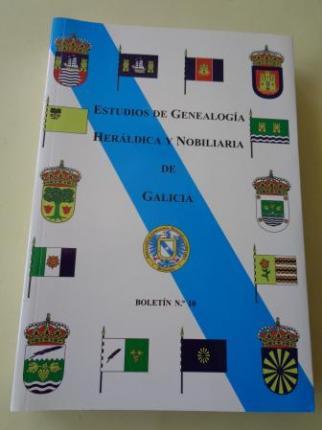 Estudios de Genealogía, Heráldica y Nobiliaria de Galicia. Boletín nº 10 - Ver os detalles do produto