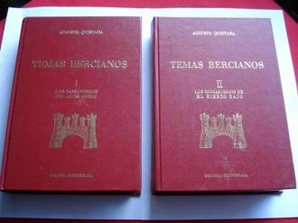 Temas Bercianos. Tomo I: Los monasterios del Alto Bierzo / Tomo II: Los monasterios de Bierzo Bajo - Ver os detalles do produto