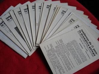 Cuadernos da Escola Dramática Galega. Nº 3-8-9-11-15-20-23-28-33-35-36-41-44-45-49-53-54-56-63-104 - Ver os detalles do produto