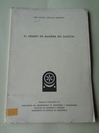 El arado de madera en Galicia. Separata de Gallaecia 3/4 - Ver os detalles do produto