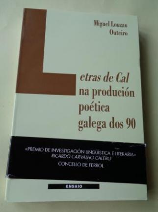 Letras da Cal na produción poética galega dos 90 - Ver os detalles do produto