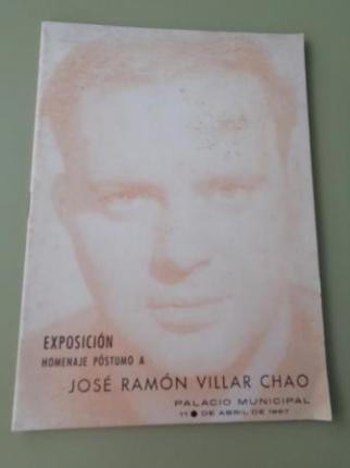 Exposición Homenaje Póstumo a José Ramón Villar Chao (1967). Catálogo - Ver os detalles do produto