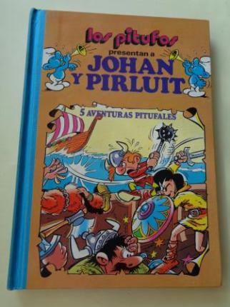 Los Pitufos presentan a Johan y Pirluit. 5 aventuras pitufales.  - Ver os detalles do produto