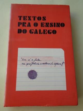 Textos pra o ensino do galego (1976) - Ver os detalles do produto