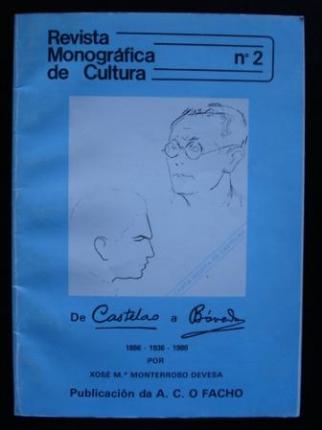Revista Monográfica de Cultura, nº 2. De Castelao a Bóveda - Ver os detalles do produto