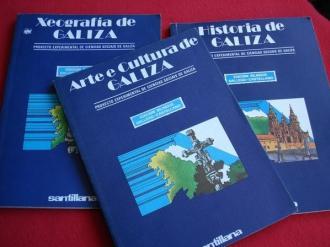 LOTE 3 TÍTULOS: Historia de Galiza - Arte e cultura de Galiza - Xeografía de Galiza.  - Ver os detalles do produto