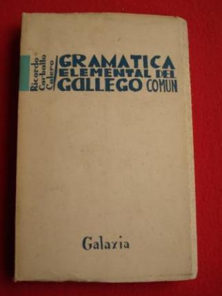 Gramática elemental del gallego común - Ver os detalles do produto