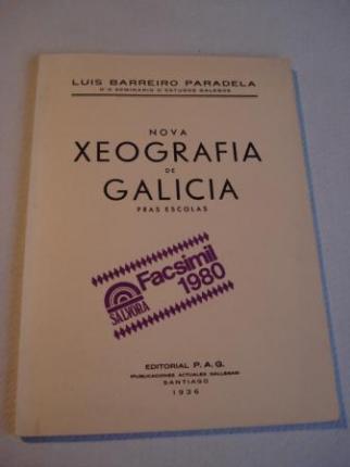 Nova  Xeografía de Galicia pras escolas. Edición facsímil da 1ª edición de 1936 - Ver os detalles do produto