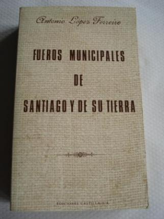 Fueros Municipales de Santiago y de su tierra - Ver os detalles do produto