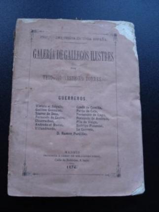 Galería de Gallegos Ilustres. Tomo II. Guerreros - Ver os detalles do produto