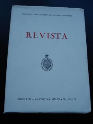 Revista Instituto José Cornide de Estudios Coruñeses, Núms. 10 y 11 - Ver os detalles do produto
