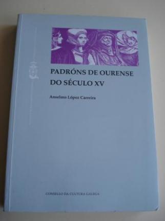 Padróns de Ourense do século XV - Ver os detalles do produto